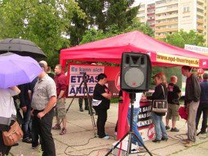 NPD Kundgebung am 13.08.14 in Gera