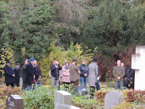 Eike Voigtsberger bei der Versammlung zum geschichtsrevisionistischen Volkstrauertag am 15.11.20